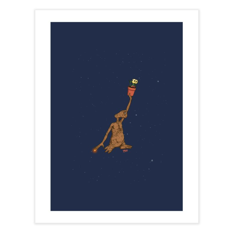 Air E.T. Home Fine Art Print by Tripledead Shop
