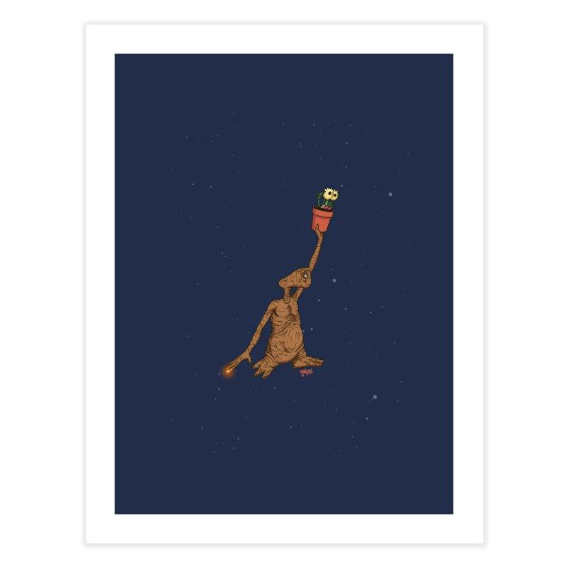 Air E.T. Home Fine Art Print by Tripledead Shop