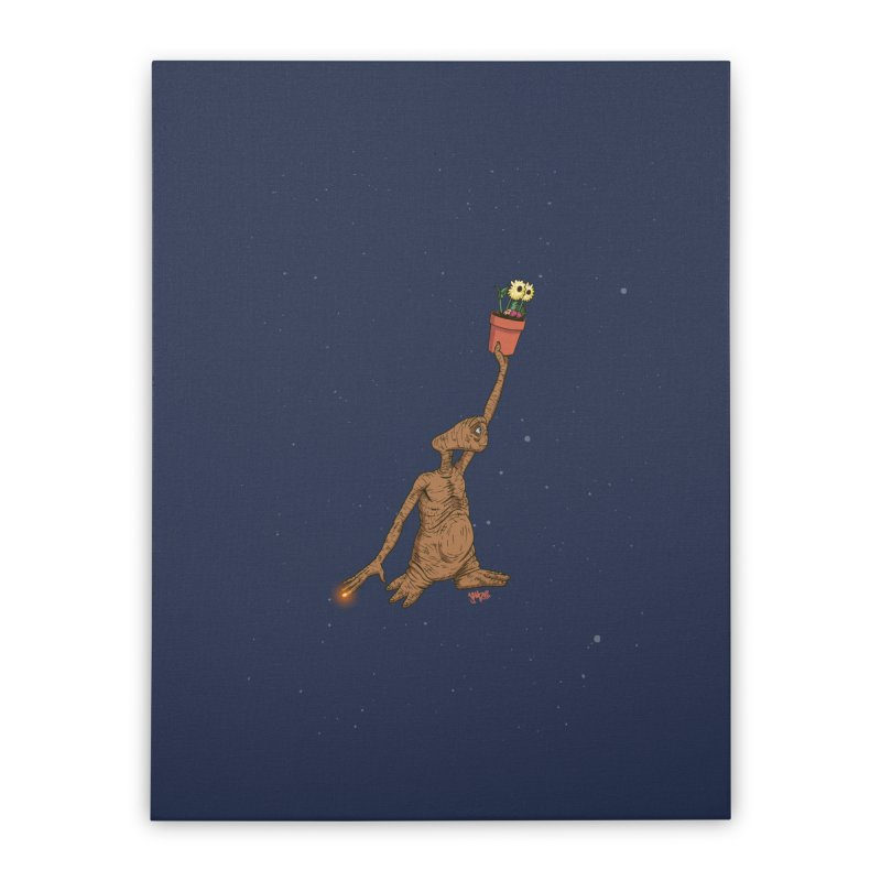 Air E.T. Home Stretched Canvas by Tripledead Shop