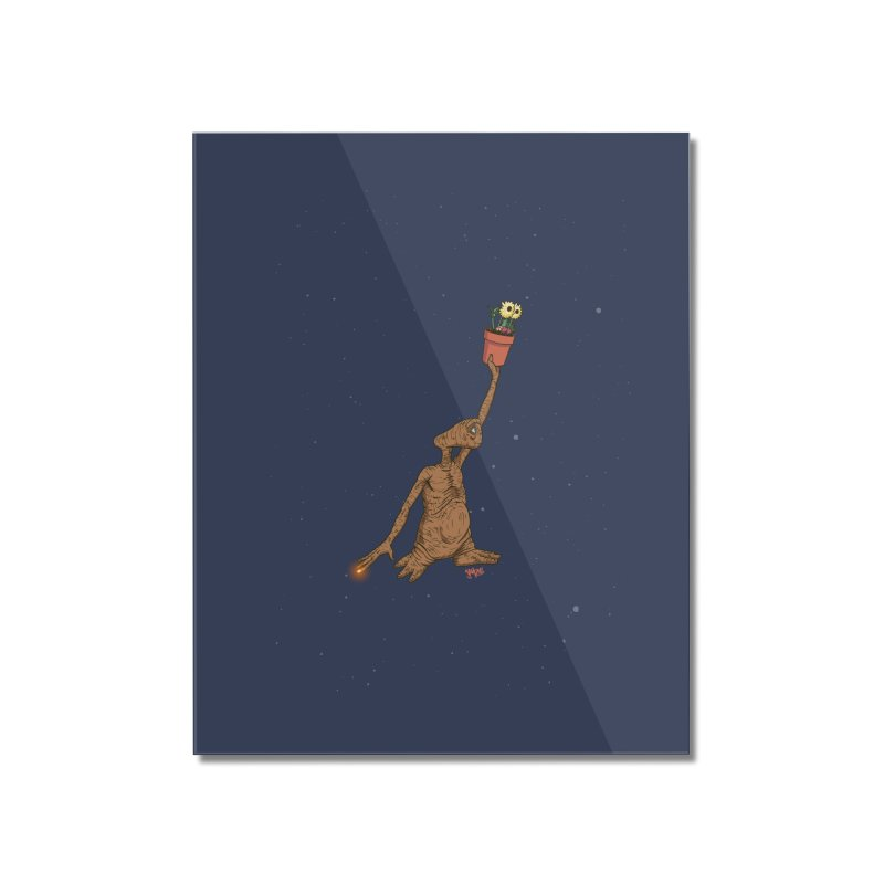 Air E.T. Home Mounted Acrylic Print by Tripledead Shop