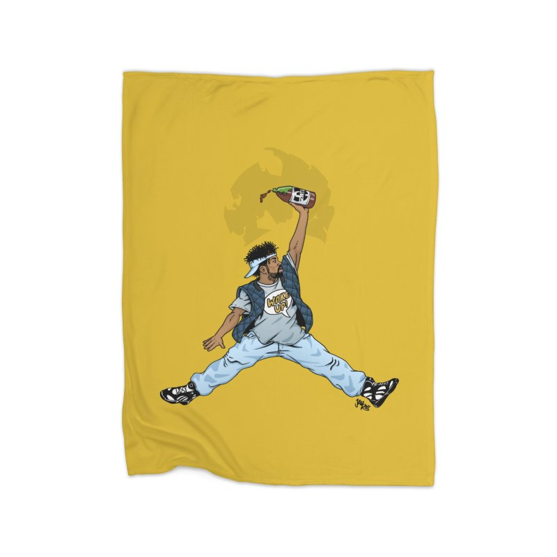 Air Mef Home Fleece Blanket Blanket by Tripledead Shop