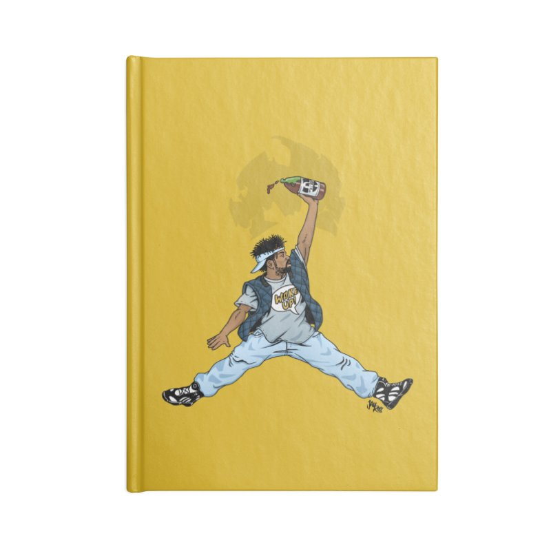 Air Mef Accessories Lined Journal Notebook by Tripledead Shop