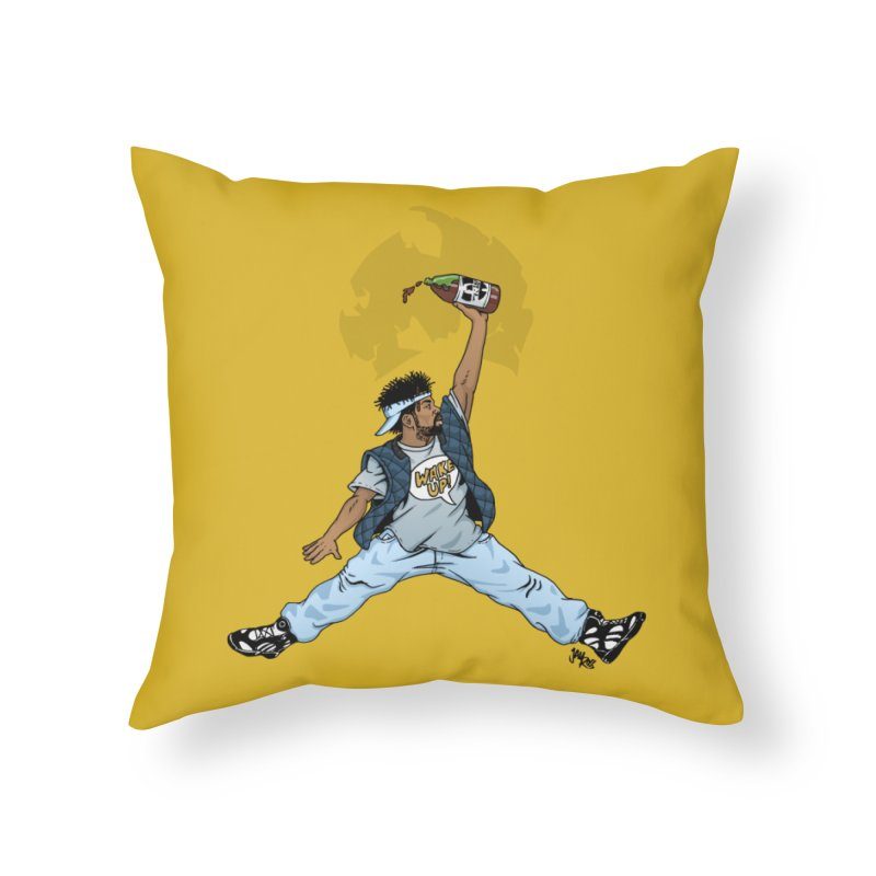 Air Mef Home Throw Pillow by Tripledead Shop