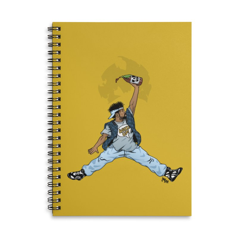 Air Mef Accessories Lined Spiral Notebook by Tripledead Shop