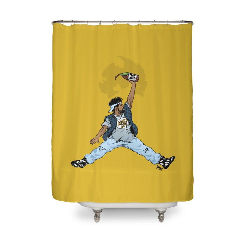 Air Mef Home Shower Curtain by Tripledead Shop