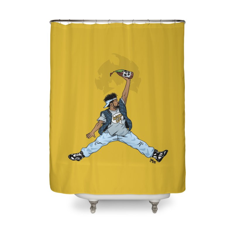 Air Mef Home Shower Curtain by Tripledead Shop