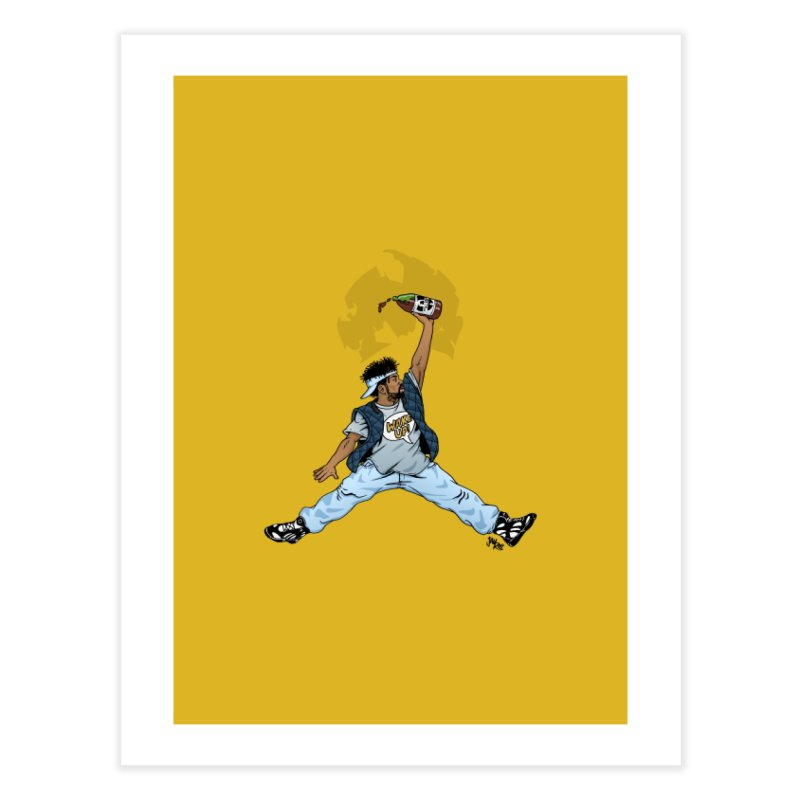 Air Mef Home Fine Art Print by Tripledead Shop