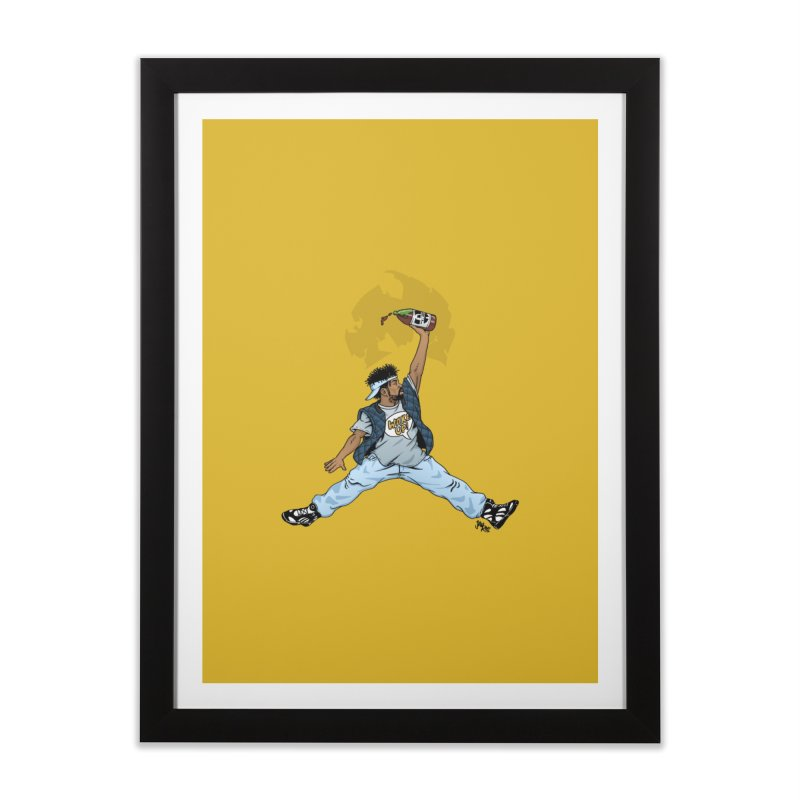 Air Mef Home Framed Fine Art Print by Tripledead Shop