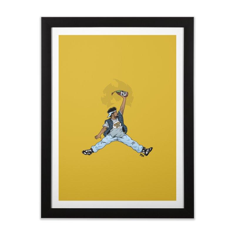 Air Mef Home Framed Fine Art Print by Tripledead Shop