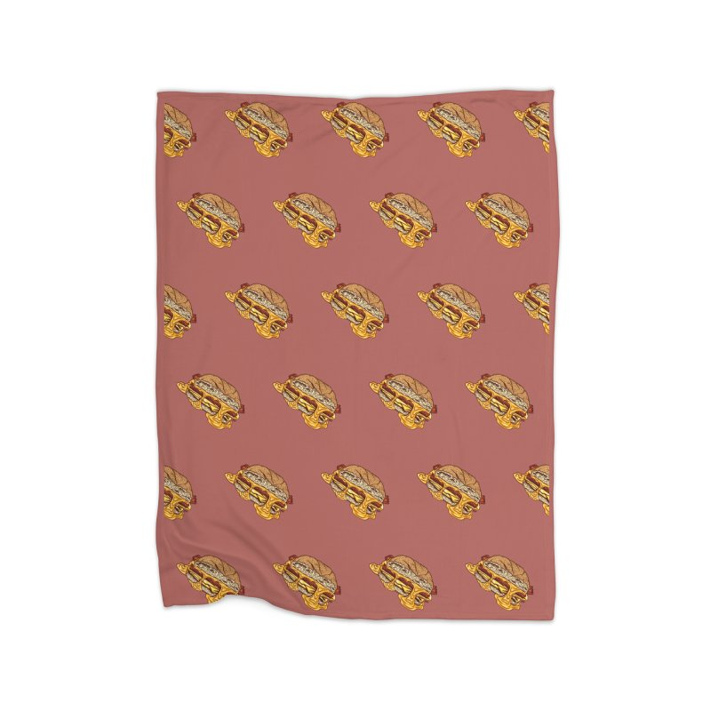 Baconeggandcheese Home Blanket by Tripledead Shop