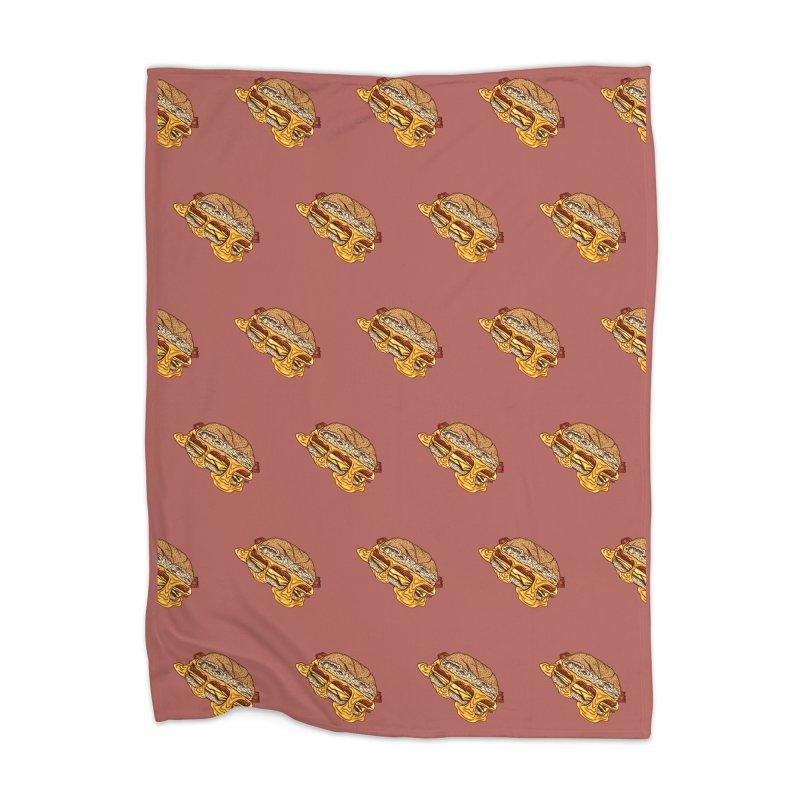 Baconeggandcheese Home Blanket by Tripledead Shop
