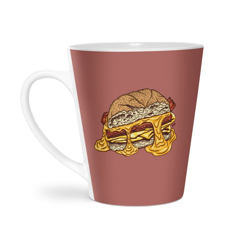 Baconeggandcheese Accessories Latte Mug by Tripledead Shop