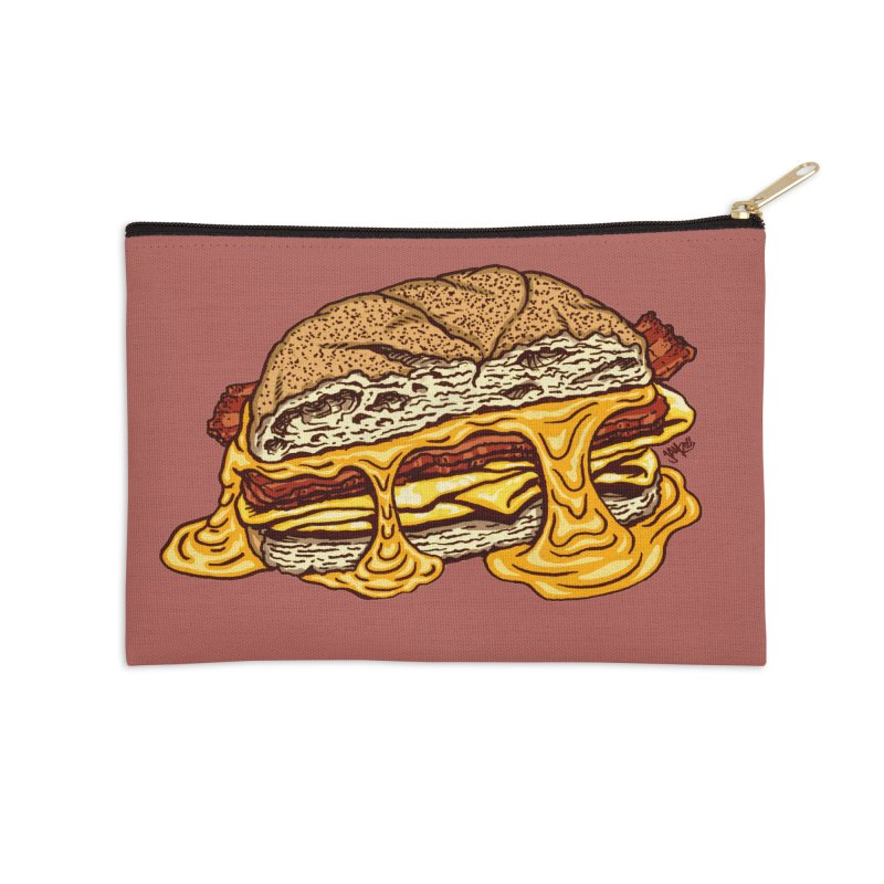 Baconeggandcheese Accessories Zip Pouch by Tripledead Shop