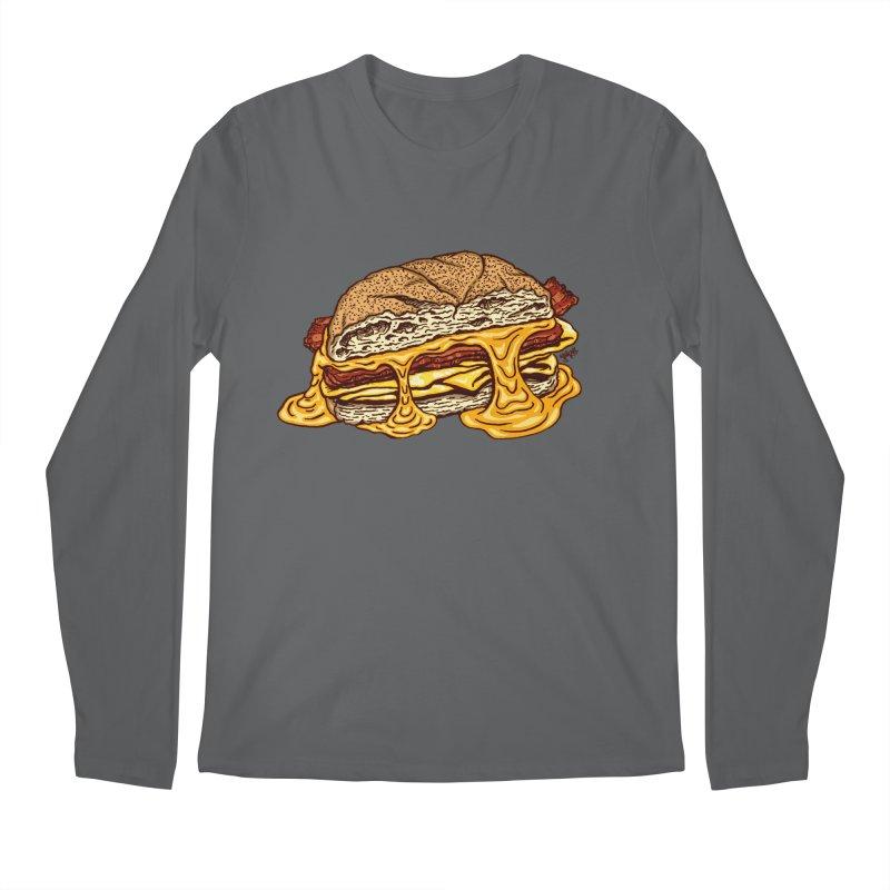 Baconeggandcheese Men's Longsleeve T-Shirt by Tripledead Shop