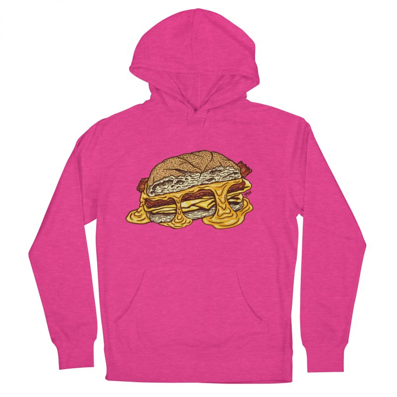 Baconeggandcheese Women's French Terry Pullover Hoody by Tripledead Shop