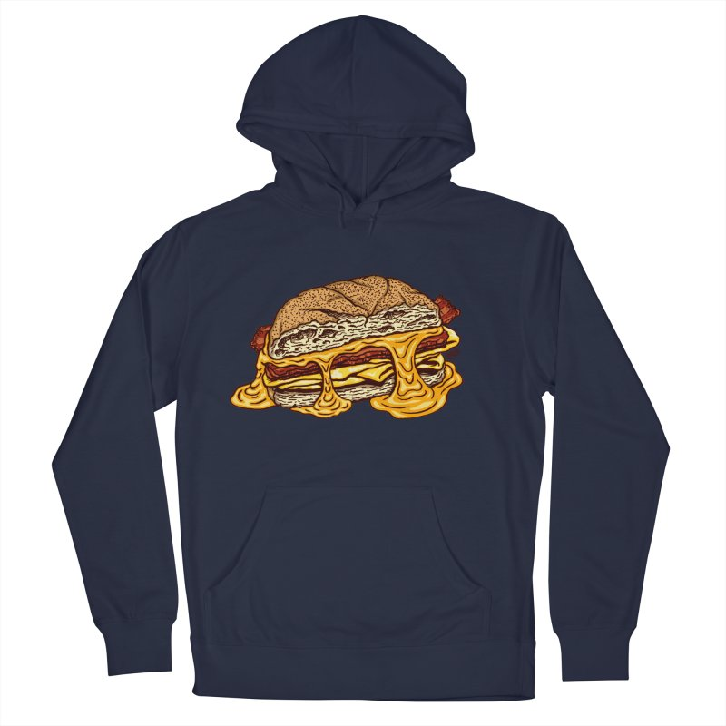 Baconeggandcheese Men's Pullover Hoody by Tripledead Shop