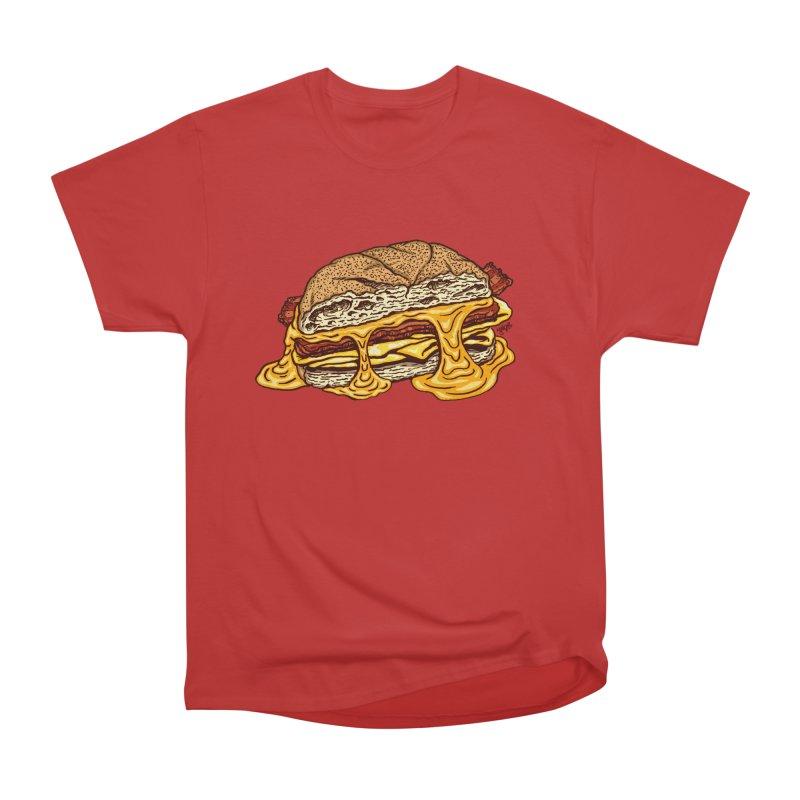 Baconeggandcheese Men's Heavyweight T-Shirt by Tripledead Shop