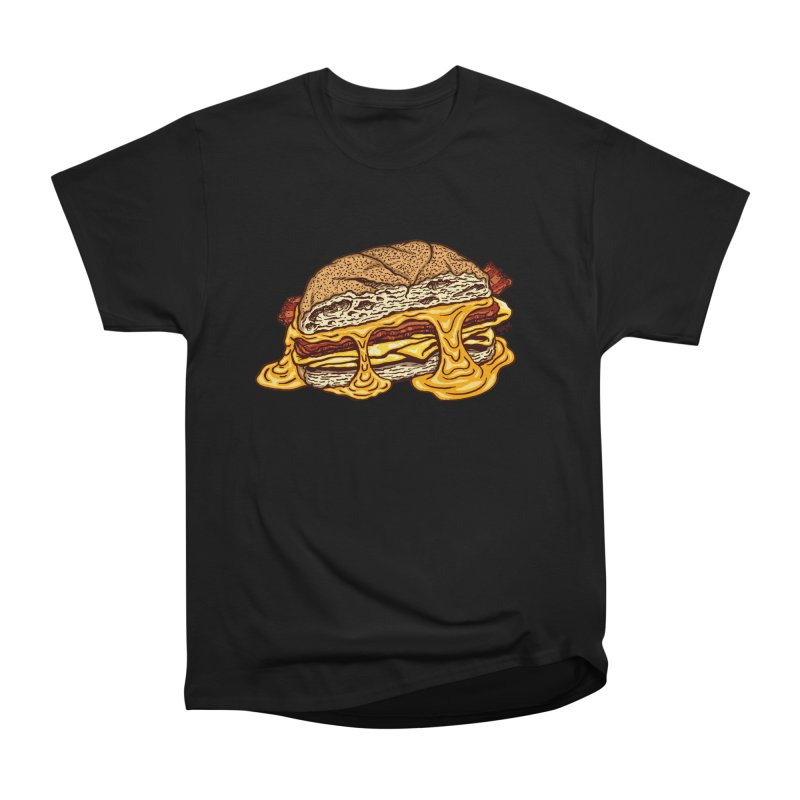 Baconeggandcheese Women's Heavyweight Unisex T-Shirt by Tripledead Shop