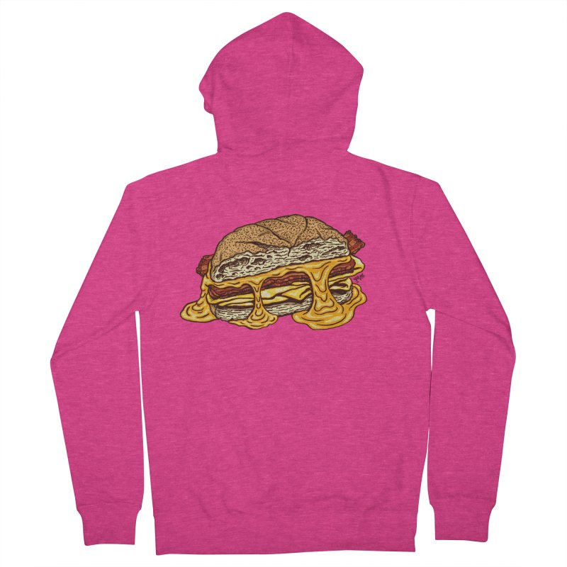Baconeggandcheese Women's Zip-Up Hoody by Tripledead Shop
