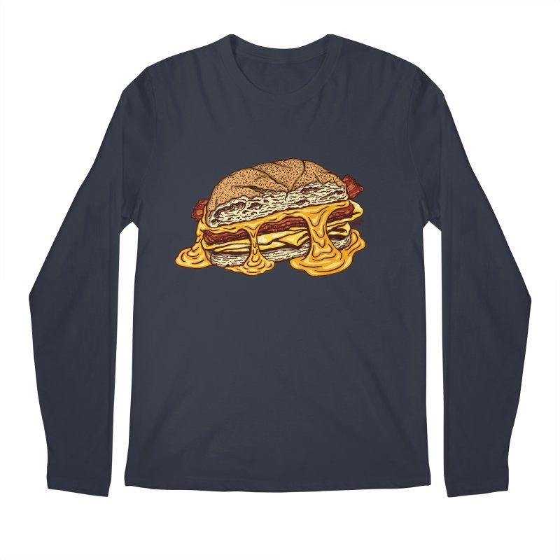 Baconeggandcheese Men's Regular Longsleeve T-Shirt by Tripledead Shop