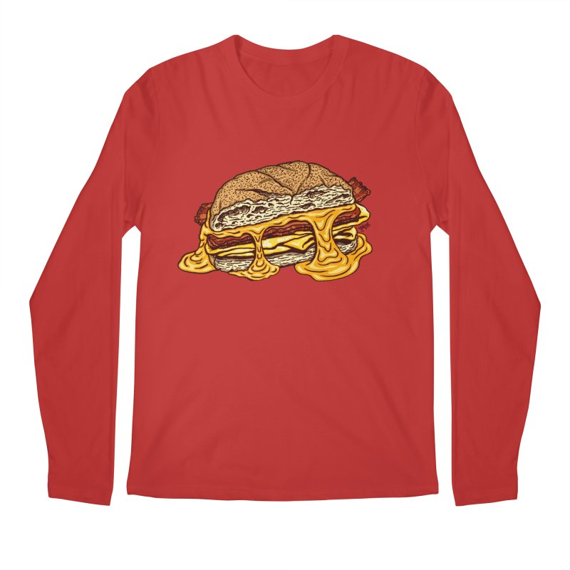 Baconeggandcheese Men's Regular Longsleeve T-Shirt by Tripledead Shop