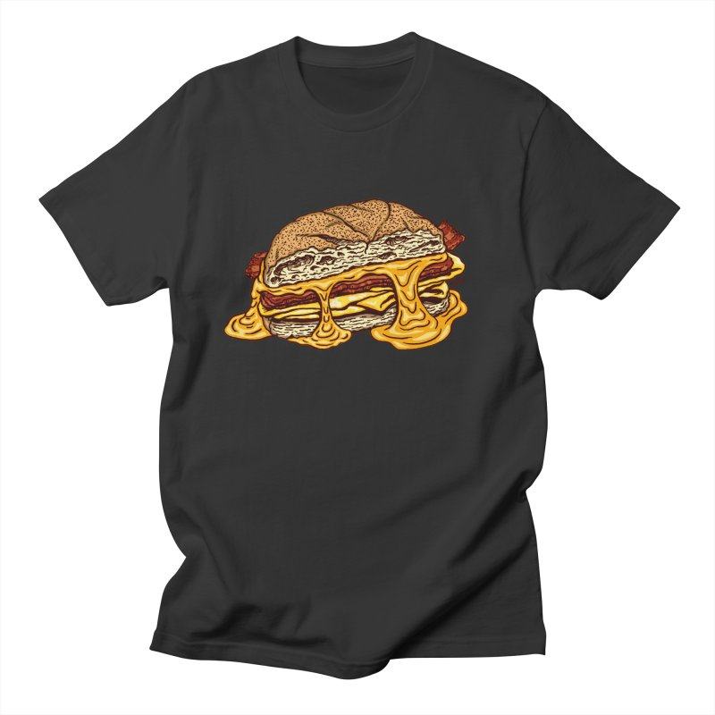 Baconeggandcheese Men's Regular T-Shirt by Tripledead Shop