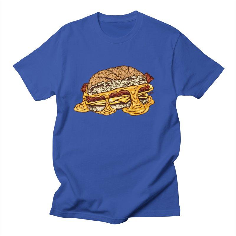 Baconeggandcheese Men's Regular T-Shirt by Tripledead Shop