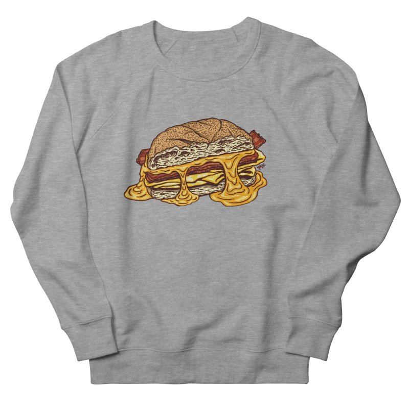Baconeggandcheese Women's French Terry Sweatshirt by Tripledead Shop
