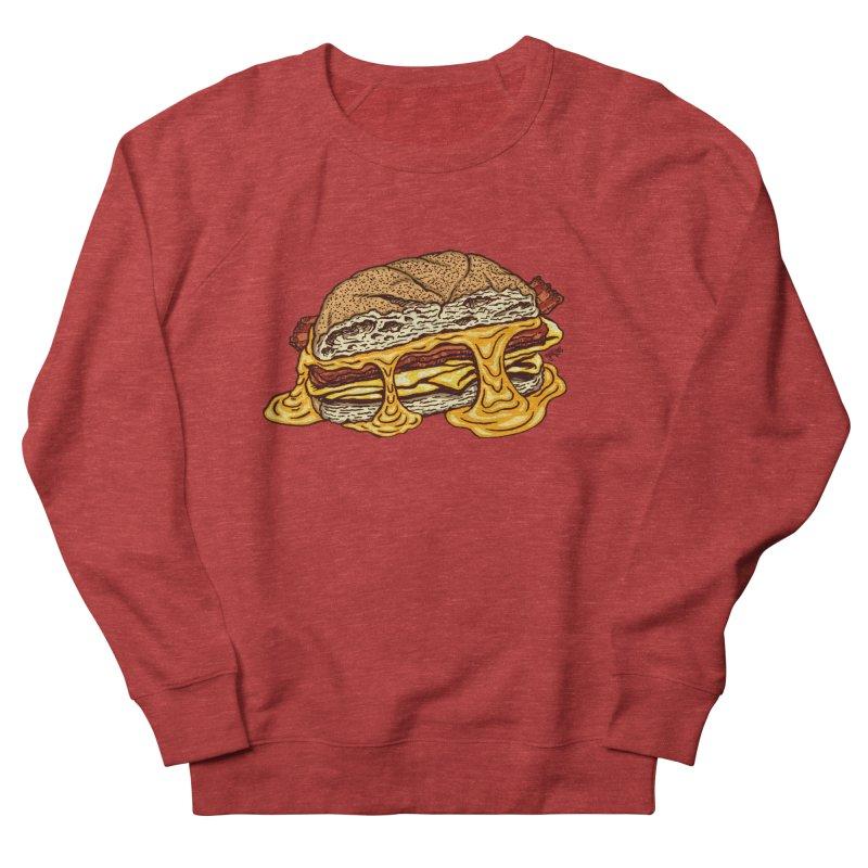 Baconeggandcheese Women's French Terry Sweatshirt by Tripledead Shop