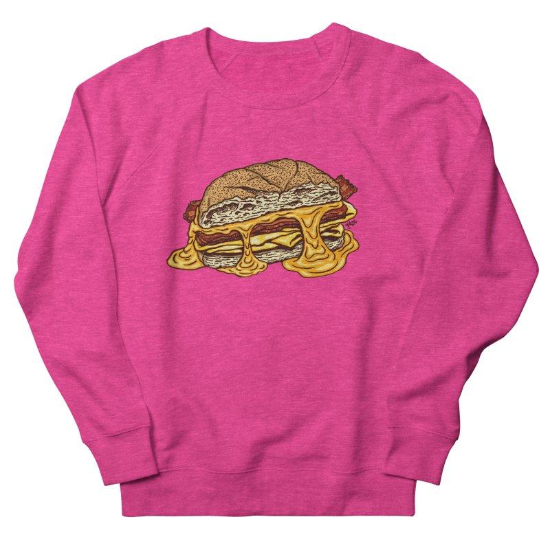 Baconeggandcheese Men's French Terry Sweatshirt by Tripledead Shop
