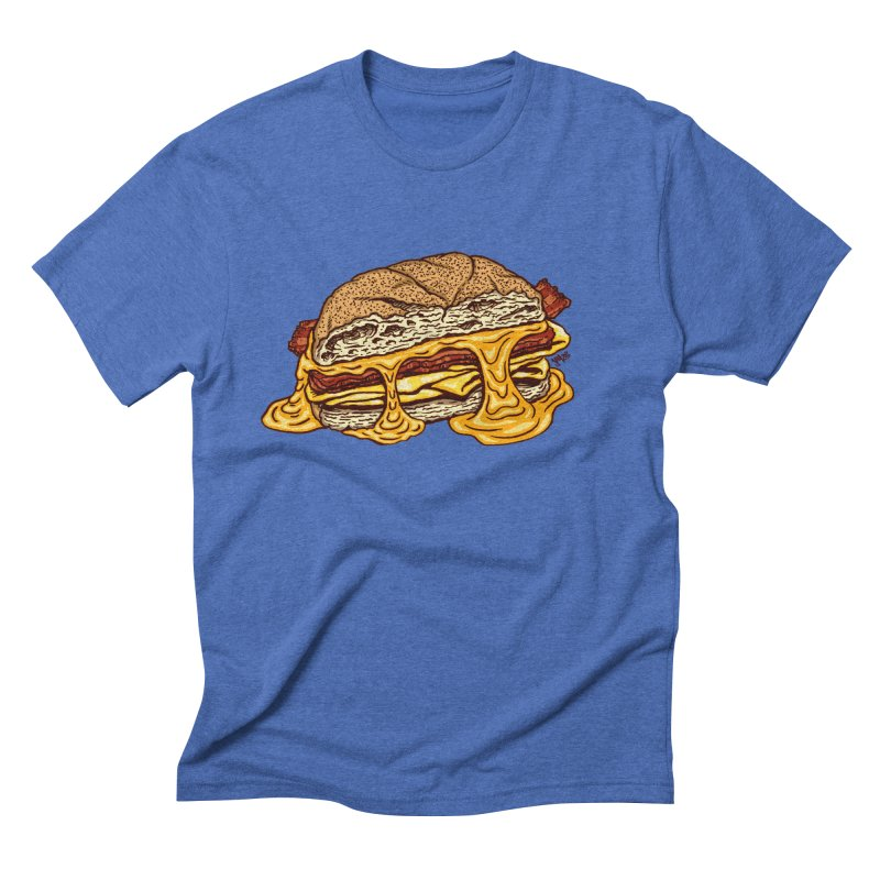 Baconeggandcheese Men's T-Shirt by Tripledead Shop