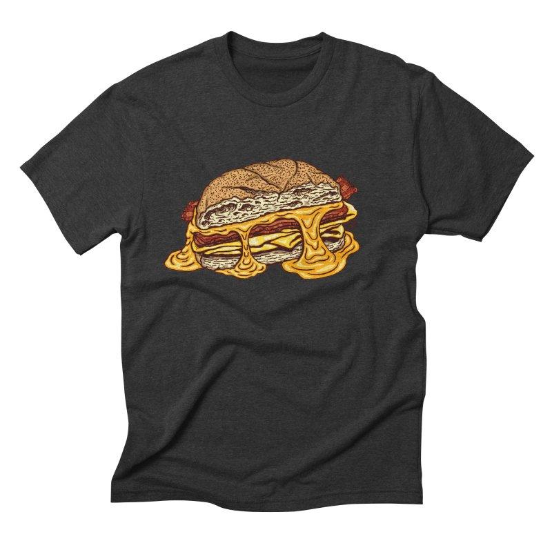 Baconeggandcheese Men's Triblend T-Shirt by Tripledead Shop