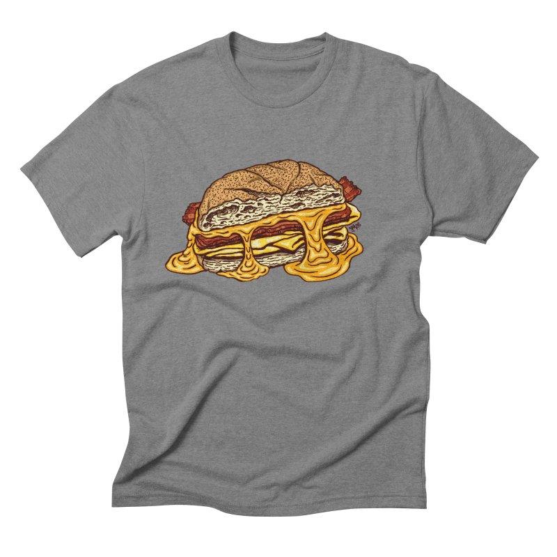 Baconeggandcheese Men's T-Shirt by Tripledead Shop
