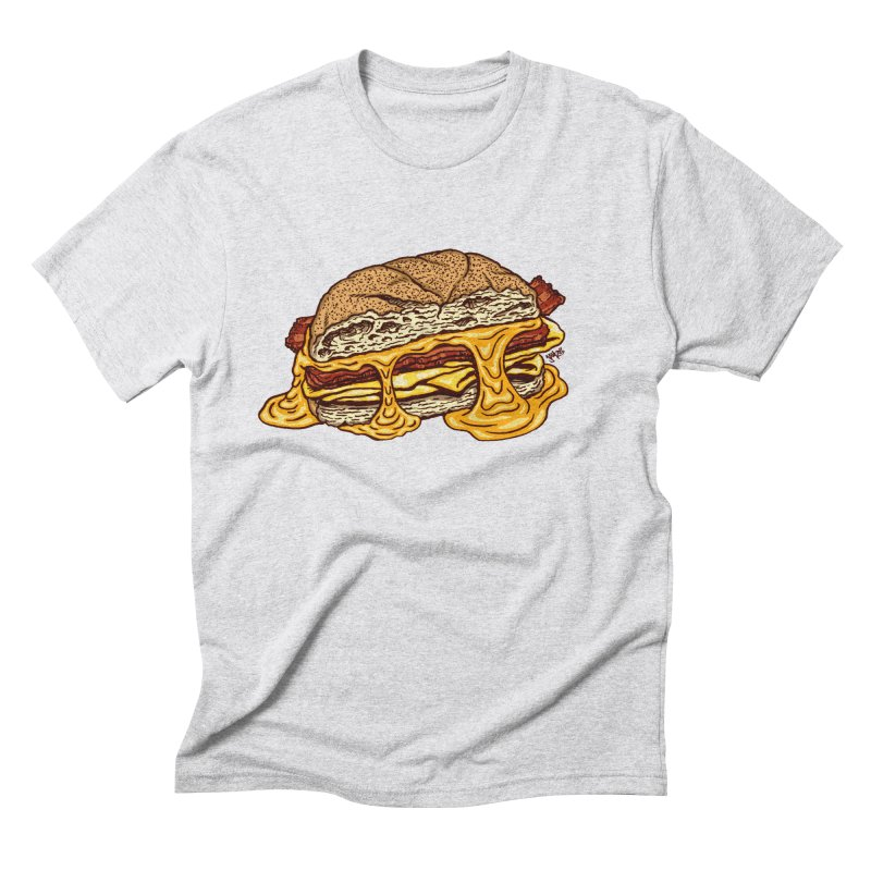Baconeggandcheese Men's Triblend T-Shirt by Tripledead Shop
