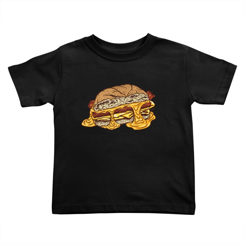 Baconeggandcheese Kids Toddler T-Shirt by Tripledead Shop