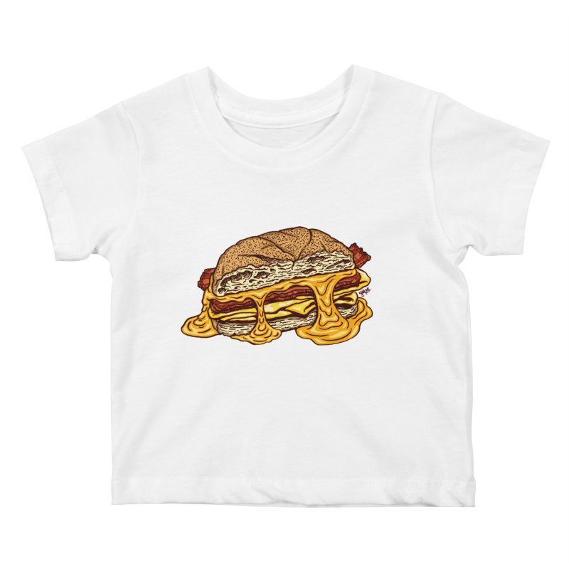 Baconeggandcheese Kids Baby T-Shirt by Tripledead Shop
