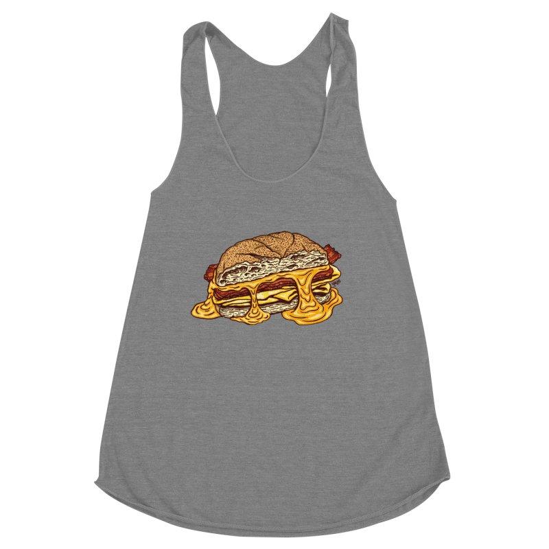 Baconeggandcheese Women's Tank by Tripledead Shop