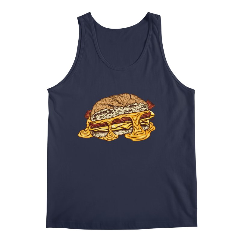 Baconeggandcheese Men's Regular Tank by Tripledead Shop