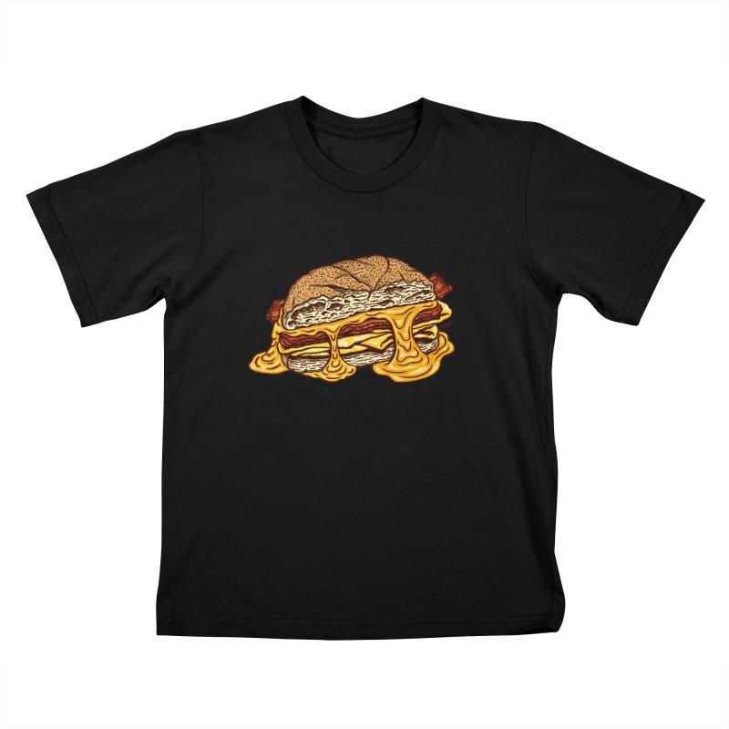 Baconeggandcheese Kids T-Shirt by Tripledead Shop