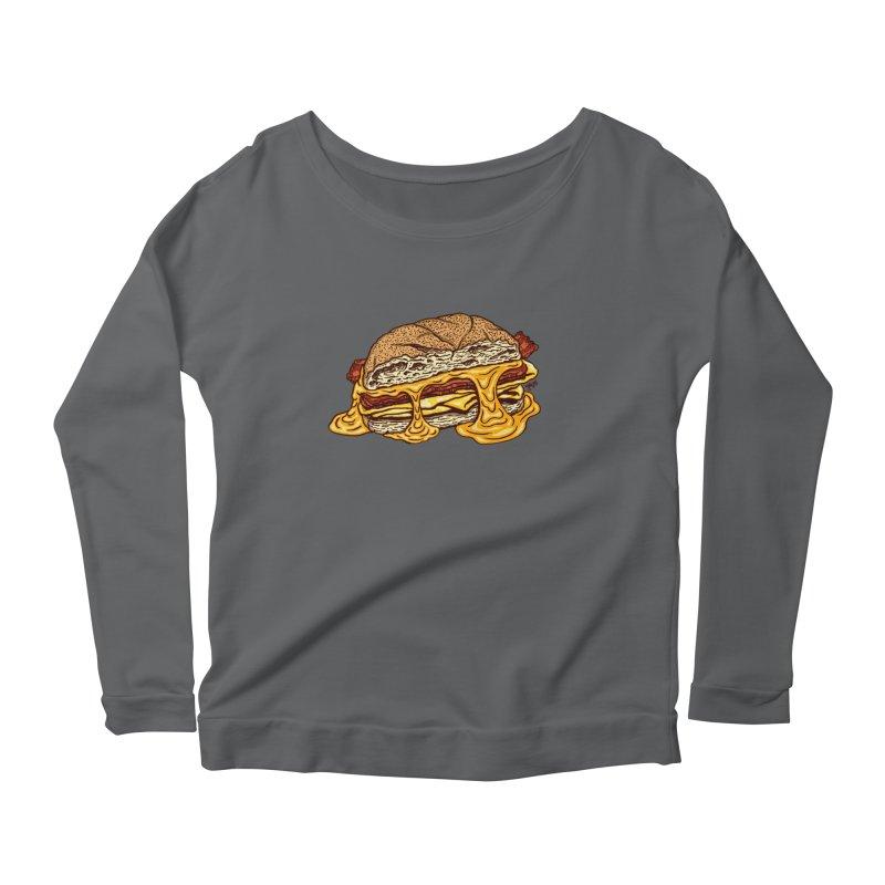 Baconeggandcheese Women's Longsleeve T-Shirt by Tripledead Shop
