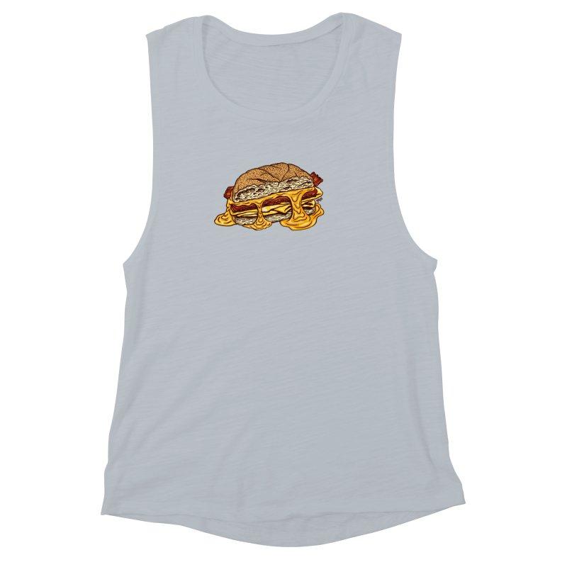 Baconeggandcheese Women's Muscle Tank by Tripledead Shop