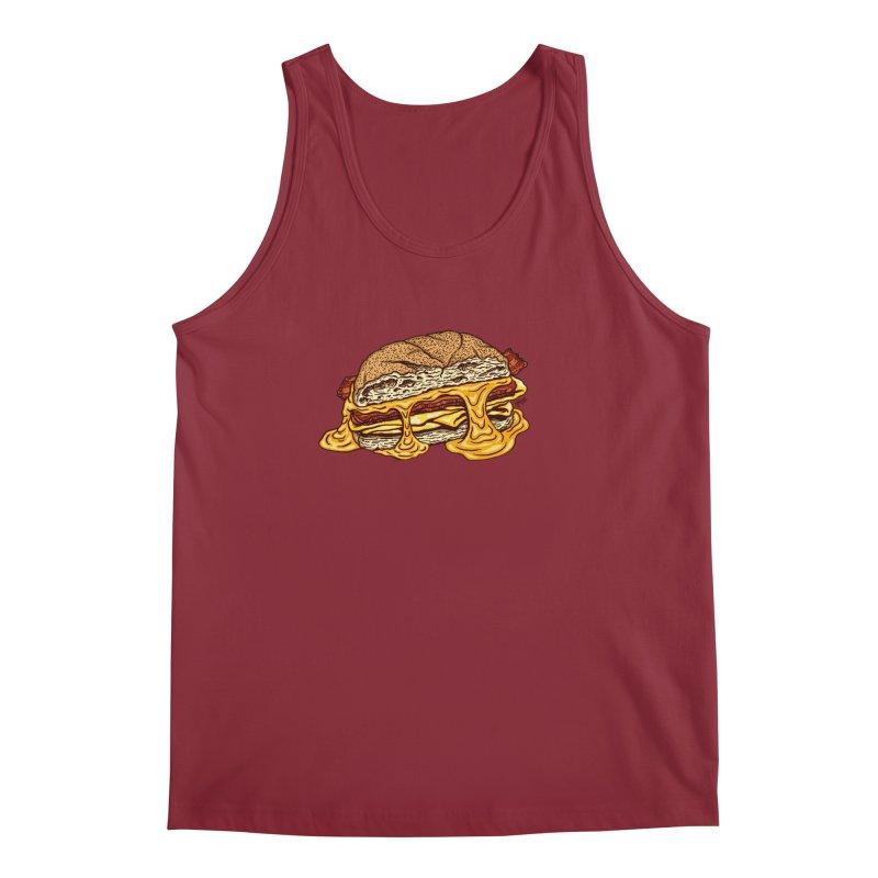 Baconeggandcheese Men's Tank by Tripledead Shop
