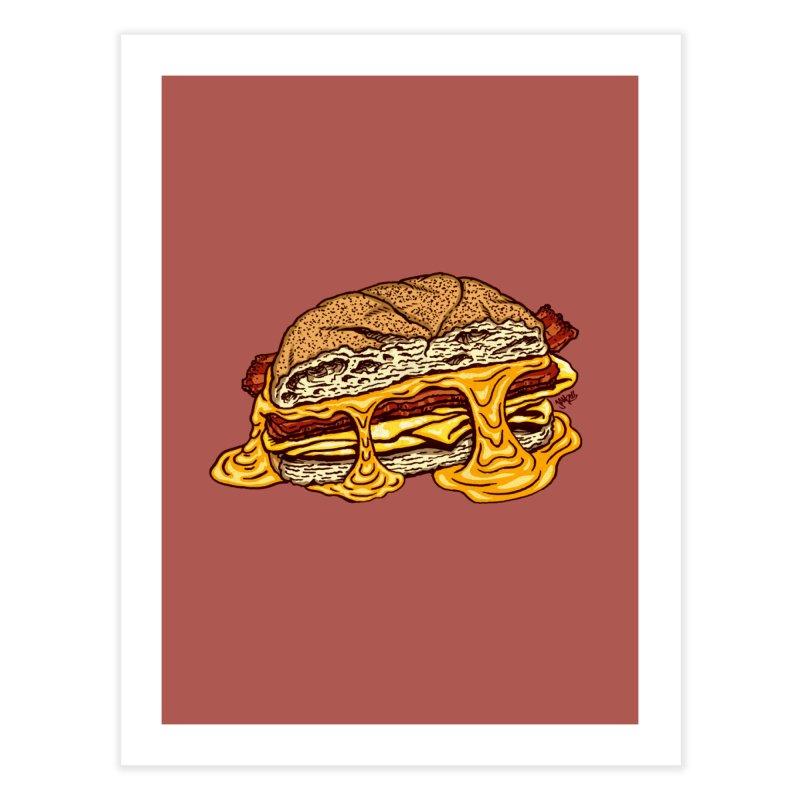 Baconeggandcheese Home Fine Art Print by Tripledead Shop