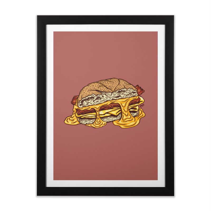 Baconeggandcheese Home Framed Fine Art Print by Tripledead Shop