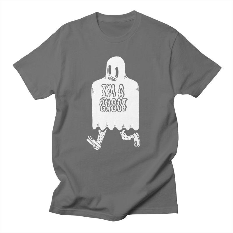 I'm A Ghost Men's T-Shirt by Tripper Dungan's Artist Shop