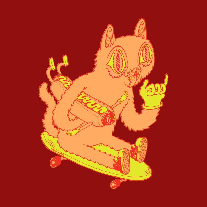 Hot Doggin' by Tripper Dungan's Artist Shop