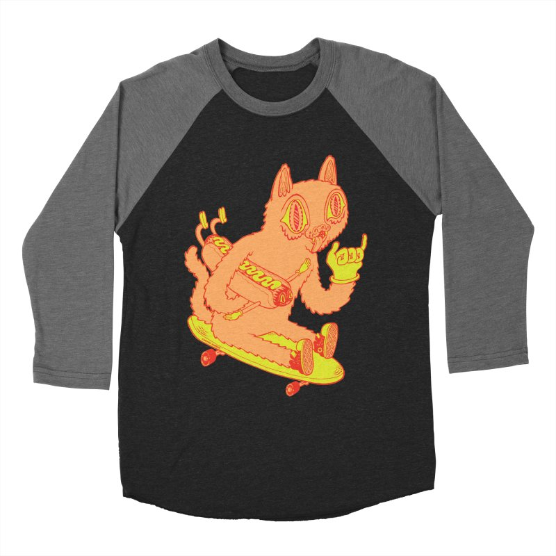 Hot Doggin' Women's Longsleeve T-Shirt by Tripper Dungan's Artist Shop