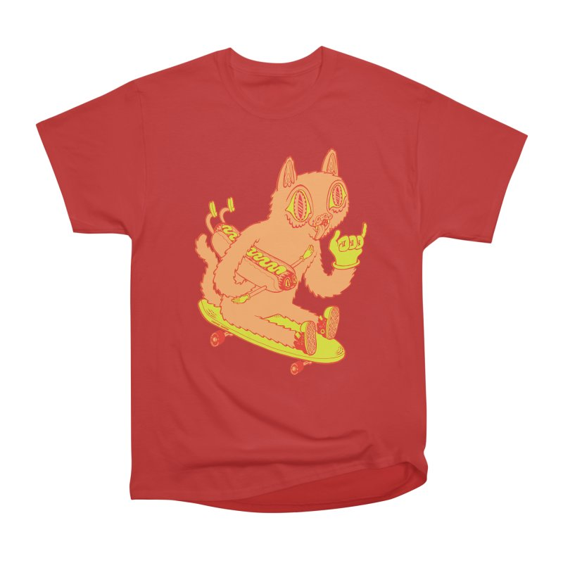 Hot Doggin' Men's Heavyweight T-Shirt by Tripper Dungan's Artist Shop