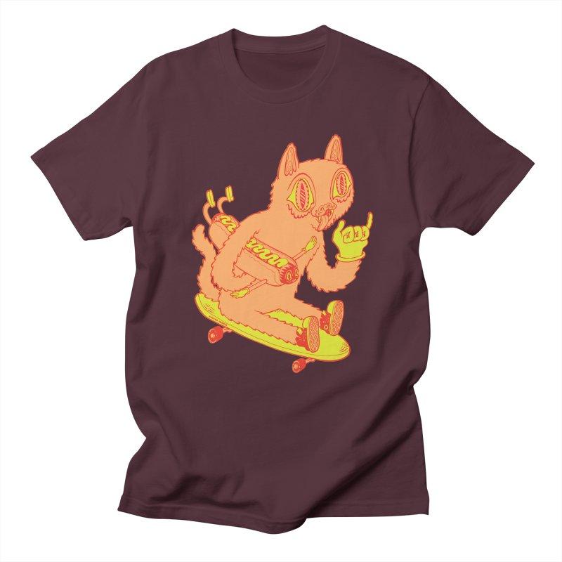 Hot Doggin' Men's Regular T-Shirt by Tripperdungan's Artist Shop