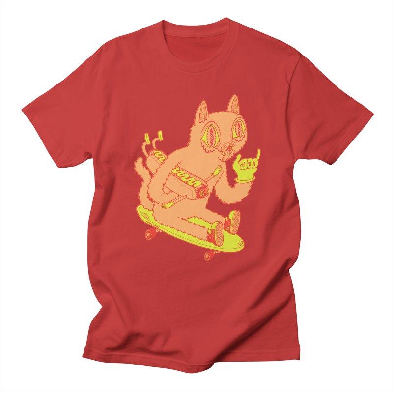 Hot Doggin' Men's T-Shirt by Tripper Dungan's Artist Shop